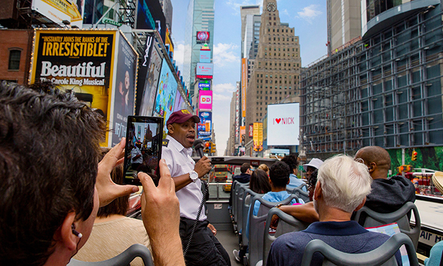 Hop-on Hop-Off New York City Tour (1-Day Classic Ticket)