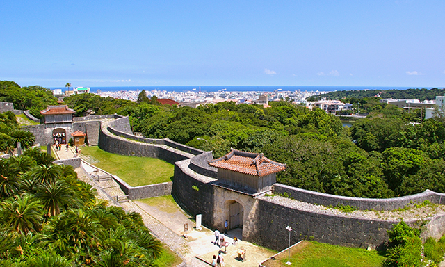 Churaumi Aquarium and Shuri Castle