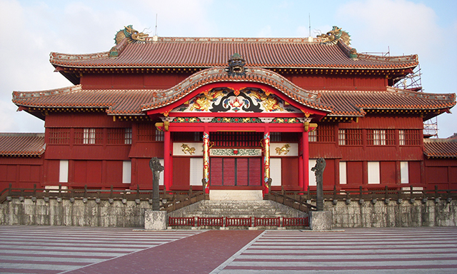 Shuri Castle and Gyokusendo Cave