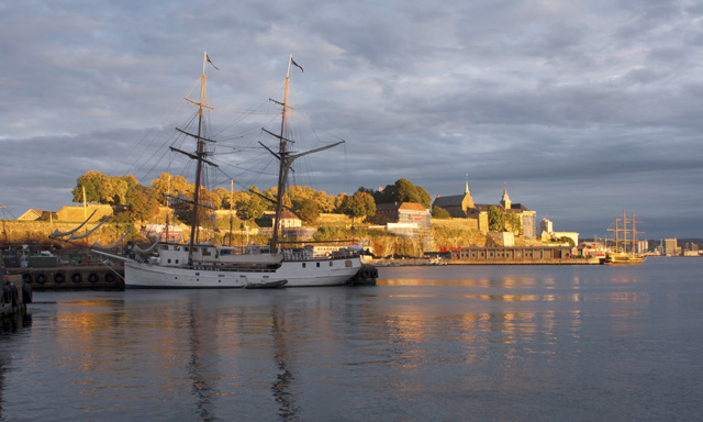 Sailing Through Oslofjord