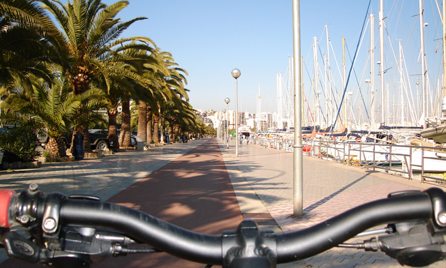 Biking in Palma
