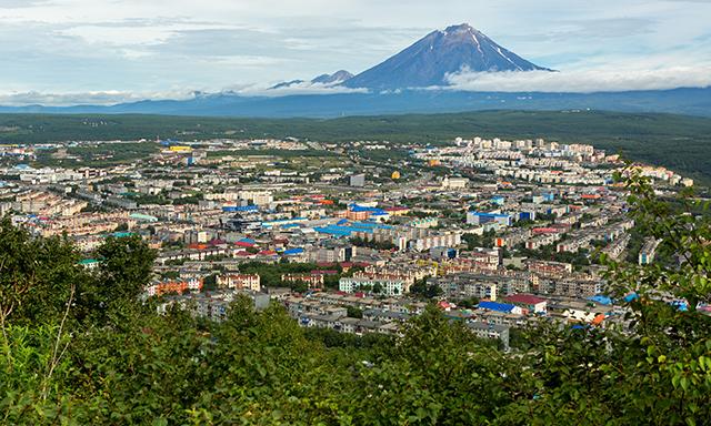 Panoramic Petropavlovsk
