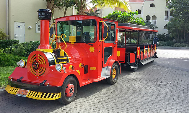 Explore Old Town Philipsburg by Trolley Train