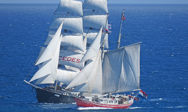 Captain Your Schooner or Tall Ship