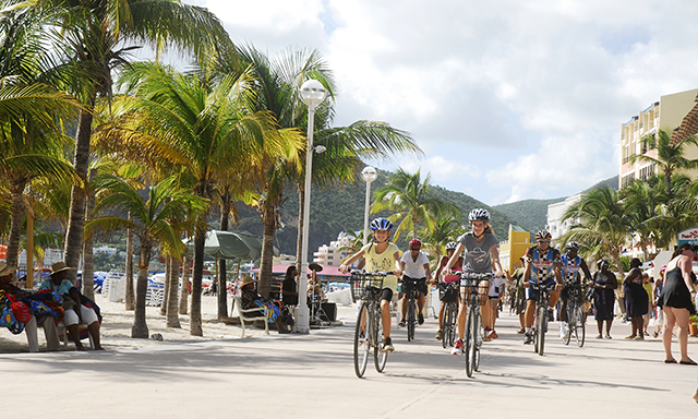 Historical Philipsburg by Bicycle and Beach