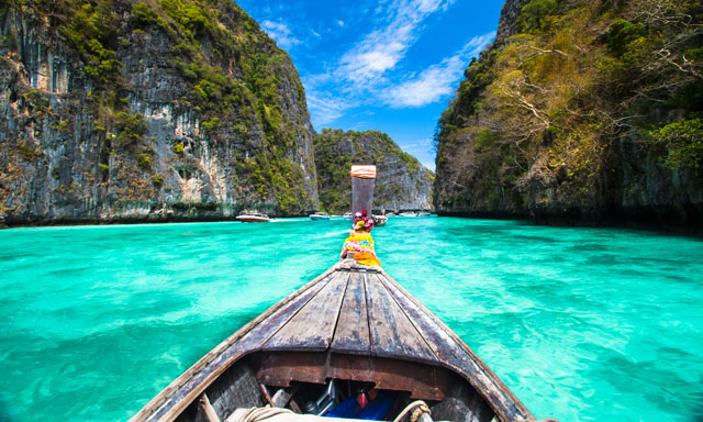 Island Hopping and Snorkeling at Phi Phi Island