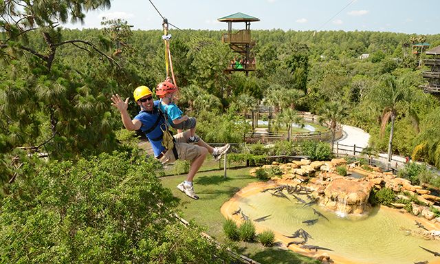 Gatorland and The Screamin' Gator Zipline