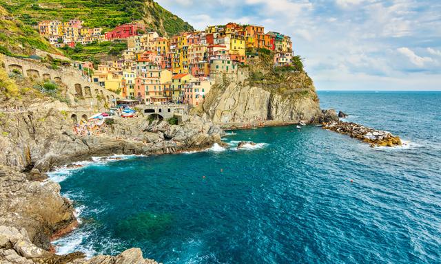 Cinque Terre Villages & Ligurian Lunch