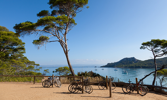 Biking in Cassis