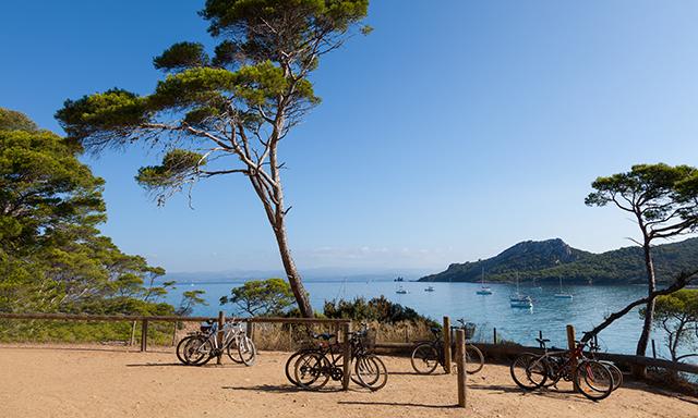 Biking in Cassis