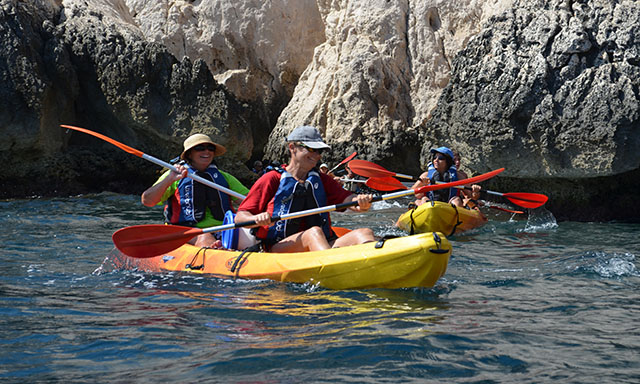 Sea Kayaking the Bleue Coast