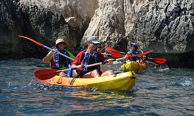 Kayaking in Toulon