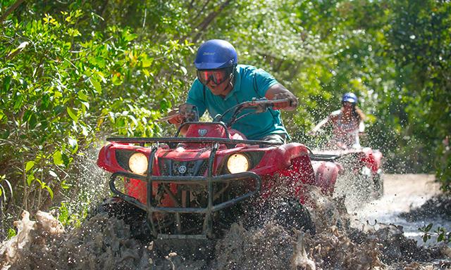 ATV Jungle and Beach Adventure