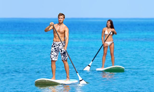 Costa Maya Triple Play: Jungle Bike Ride, Cenote Swim, and Stand-up Paddle Board