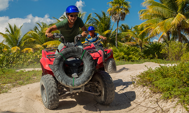 ATV Jungle and Beach Adventure