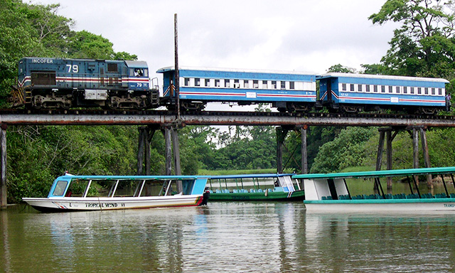 Caribbean Train, Boat & Bus Adventure