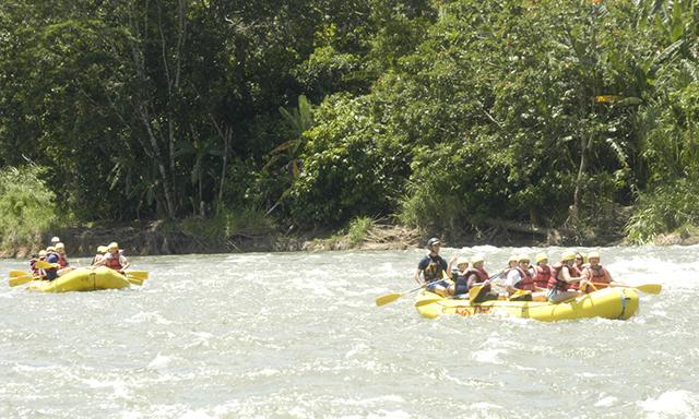 Reventazon Whitewater Rafting