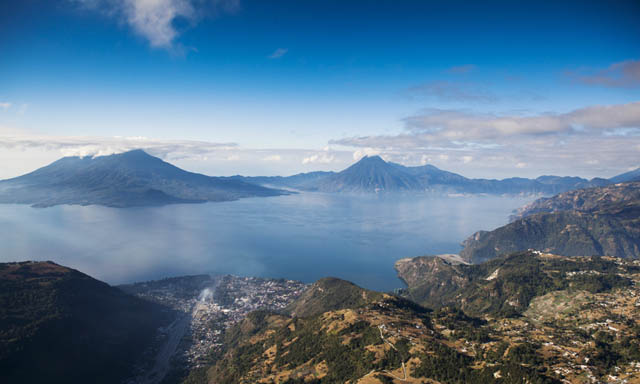 Guatemala Highland, Panajachel and Lake Atitlan