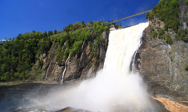 Bicycling Tour to Montmorency Falls