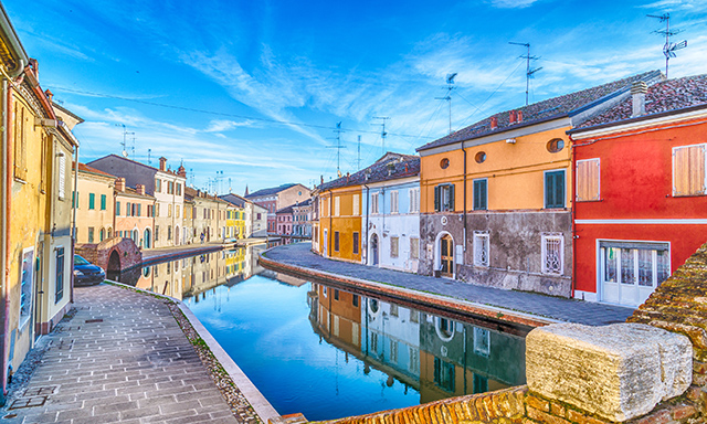 Comacchio Lagoon Panoramic tour