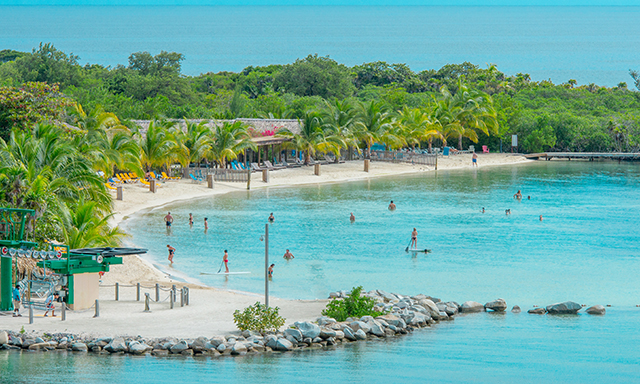 A view of Roatan