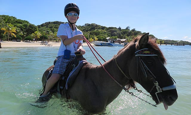 Beach Horseback Ride and Swim
