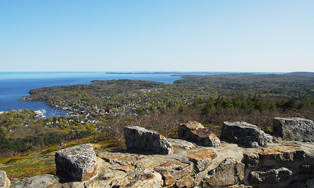 Farnsworth, Camden and Mount Battie Summit