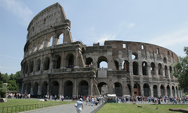 Embark Transfer to Ship Via Rome Panoramic Tour