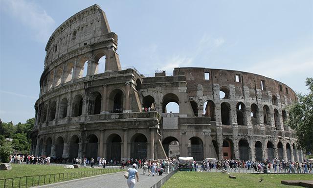 Embark Transfer to Ship Via Rome Panoramic Tour