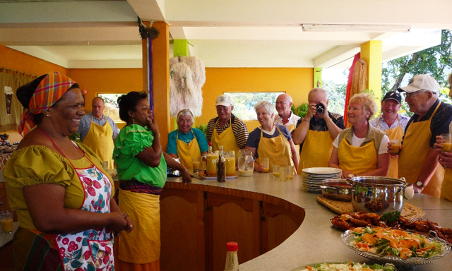 Cooking Caribbean, Rum and Nature in Dominica