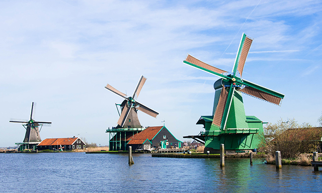 Amsterdam Windmills & Clogs