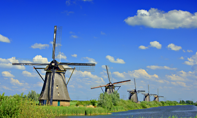 The Windmills & Kinderdijk