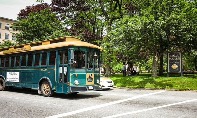Scenic Saint John Trolley Tour