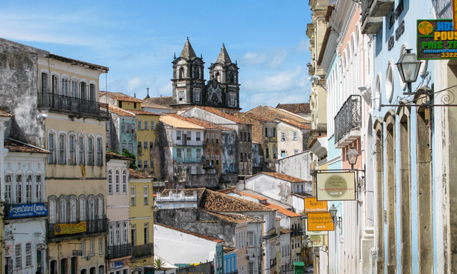 Salvador Historic Center Walking Tour