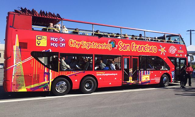 Hop On, Hop Off, San Francisco City Tour