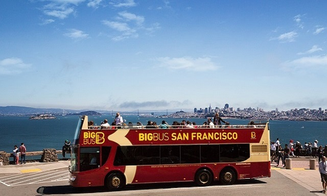 Hop On, Hop Off - San Francisco City Tour (2 Days)