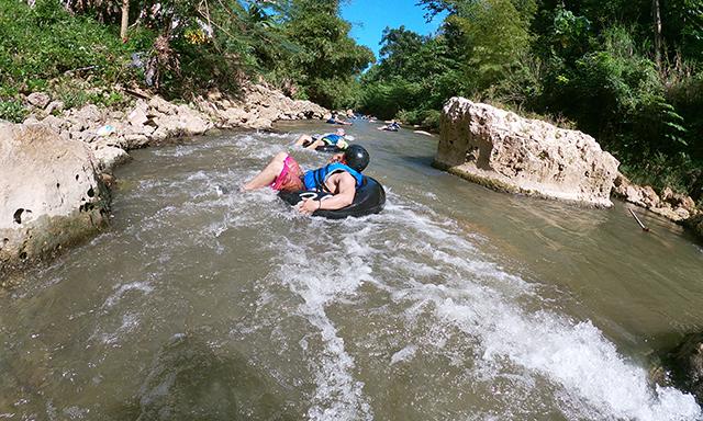 River Tubing and Trekking Adventure