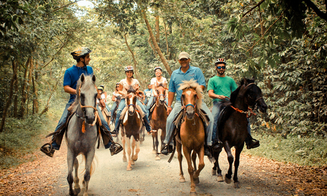 Carabali Horseback Ride