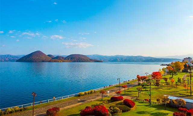 Cruising Lake Toya and Mt. Usu Ropeway