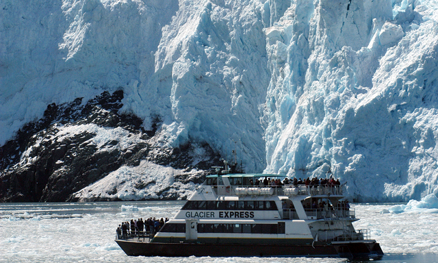 Prince William Sound Glacier cruise with lunch and airport drop off