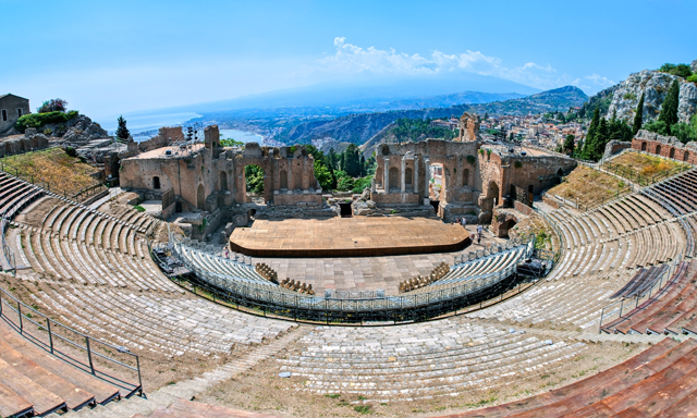 Lovely Taormina- Small Groups
