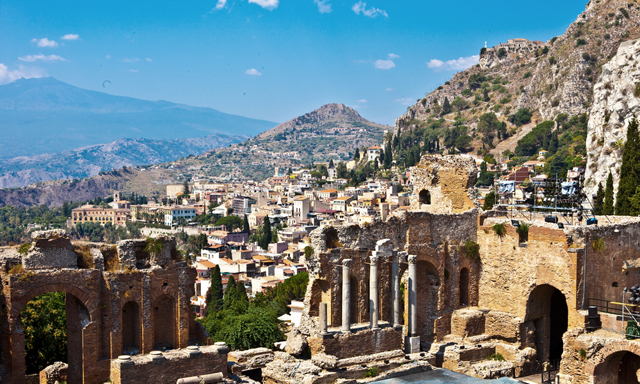 Taormina, Lava River, Wine and Jewels