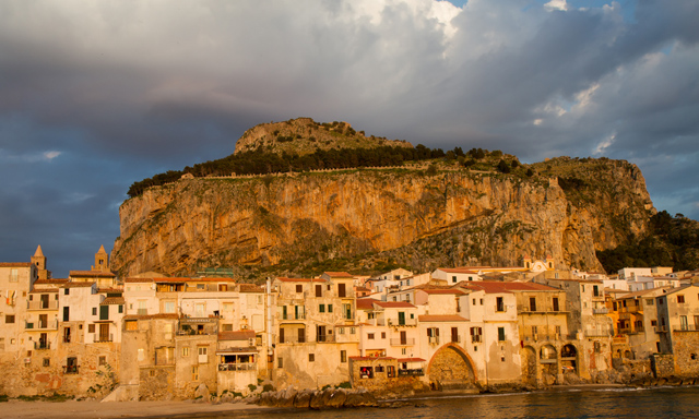 Sicilian Village of Cefalu