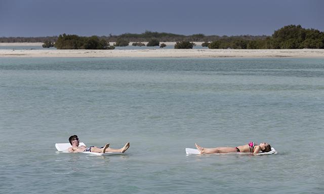 Beachside Floating Mats