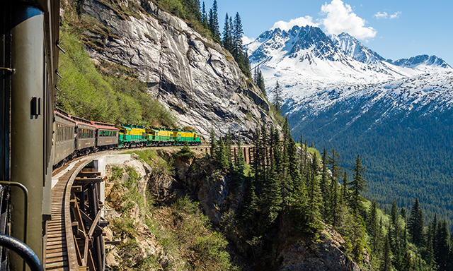 Gold Panning, Sled Dogs & Exclusive Scenic Railway