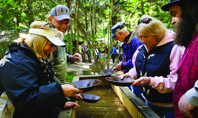 Liarsville Gold Rush Trail Camp and Salmon Bake