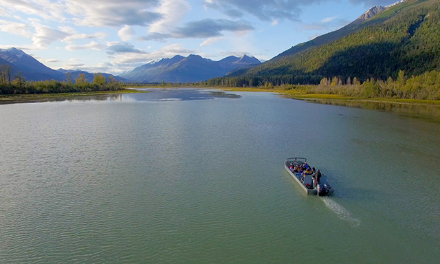 Haines Eagle Preserve Wilderness Riverboat Adventure