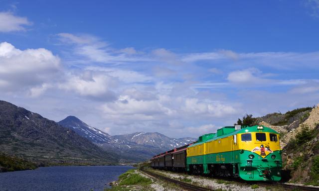 A White Pass Scenic Railway