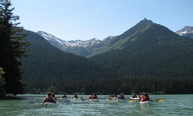 Wilderness Kayak Experience at Chilkoot Lake