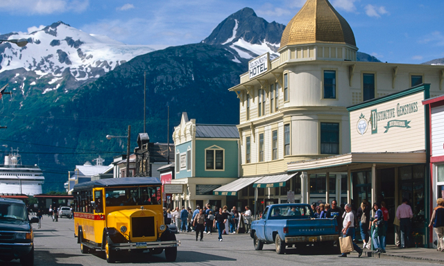Skagway Street Car City Tour